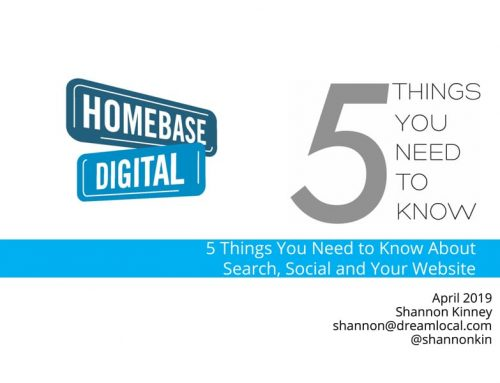 5 Things You Need to Know About Search, Social and Your Website